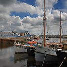 Milford Haven Harbour, West Wales by Jeremy Owen