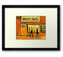 Shabbytat Framed Print