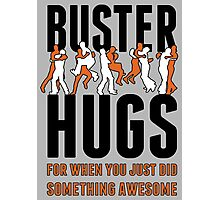 "SF Giants ""Buster Hugs"" Photographic Print"