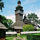 And ancient Ukrainian wooden church by YamatoHD