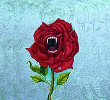 Rose With Bite by Jane Starr Weils