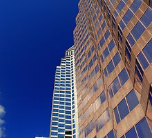 Downtown Tampa 2 by Bob Moore