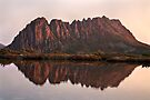 Cradle Mountain Tarn Sunset, Australia by Michael Boniwell