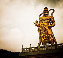 Kek Lok Statue Golden God by Cvail73