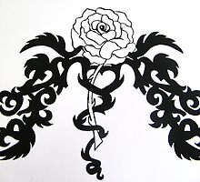 Tribal Rose Tattoo ~ 69096 views (I know ..crazy huh!) by Magicat
