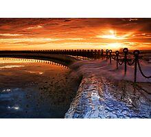 Newcastle Canoe Pool Photographic Print