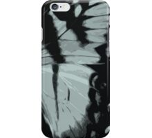 Blue Dried Butterfly  iPhone Case/Skin