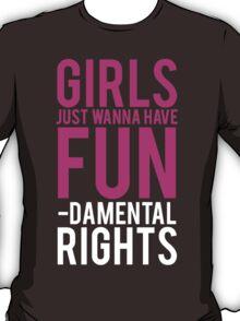 Girls Fundamental Rights T-Shirt