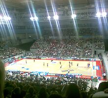 NBL Basketball Court by Tom Douce