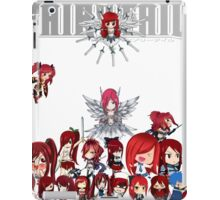 Fairy Tail many faces of Erza iPad Case/Skin