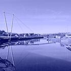 millennium bridge by darkvampire