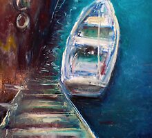 Harbour Boat #2 by Fee Dickson