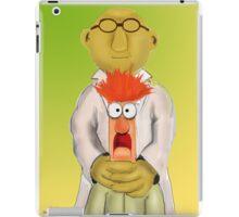 Bunsen and Beaker iPad Case/Skin