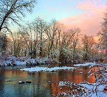 Early Winter Snow by Mike Griffiths