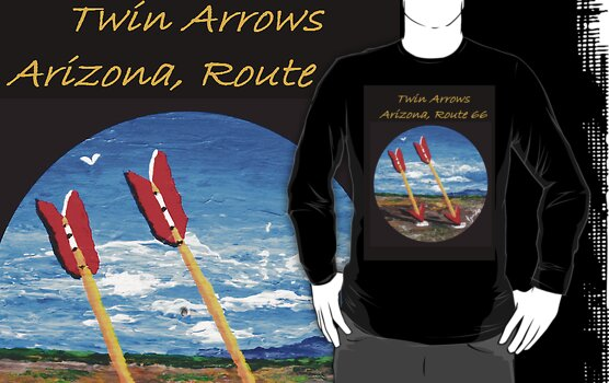 Twin Arrows, Arizona Route 66 by WhiteDove Studio kj gordon