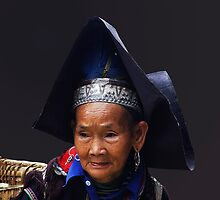 HILLTRIBE LADY - VIETNAM by Michael Sheridan