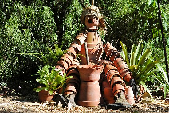 Pottery Dude by Donna Adamski