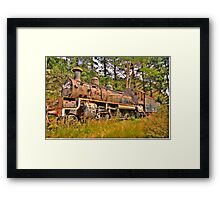 Needs Some Work - Zig Zag Railway - The HDR Experience Framed Print