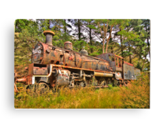 Needs Some Work - Zig Zag Railway - The HDR Experience Canvas Print