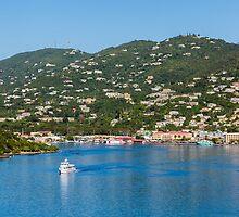 Ferry in St Thomas by dbvirago