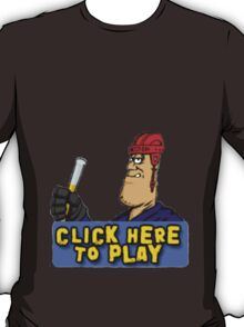 click here to play T-Shirt