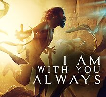 I Am With You Always by genone-design