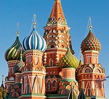 St. Basil Cathedral, Red Square, Moscow by MarcoSaracco