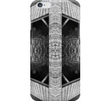 Zigzag Pier Illusion A iPhone Case/Skin