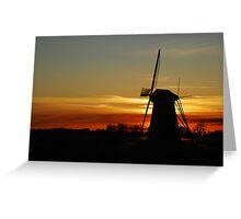 "Saying ""Good night"" the Dutch way Greeting Card"