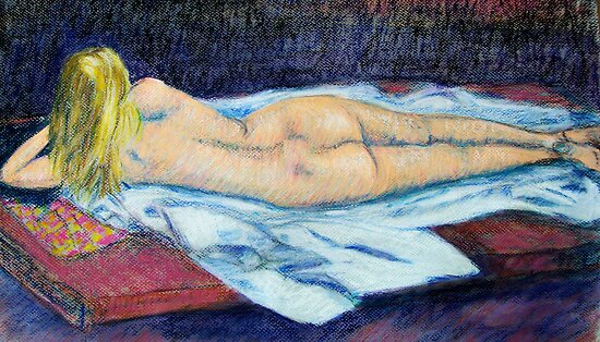 Reclining Nude by Brita Lee