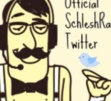 SchleshRaz Official Twitter Logo Sticker