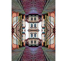 Cozy Old Town Art Photographic Print