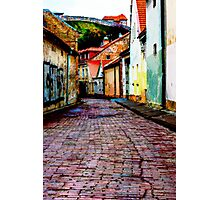 Old Town Stories Photographic Print