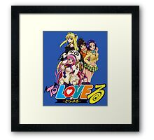 To Love ru  Framed Print