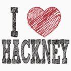 i love hackney by noonionplease