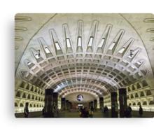Metro Geometry Canvas Print