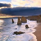 """The Twelve Apostles"" Sunset, Great Ocean Rd, Australia by Michael Boniwell"