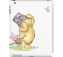 Pooh - Butterfly Warrior iPad Case/Skin