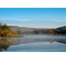 Mirror on Tranquil Lake Photographic Print