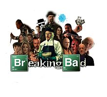 Breaking Bad Characters by rorkstarmason