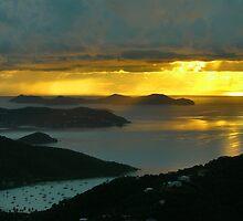 Stormy Sunrise, St. John by Stephen Vecchiotti
