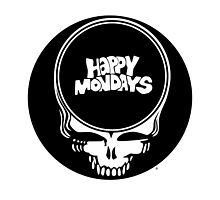 Happy Mondays / Grateful Dead Steal Your Face  by drewgillespie