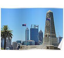 State War Memorial - Perth - WA Poster