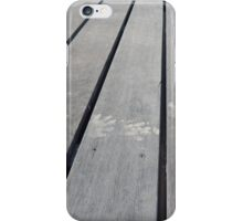 Paw Print Painted Planks iPhone Case/Skin