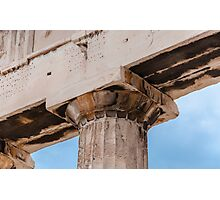 Parthenon column Photographic Print