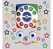 Toys Dial Phone Photographic Print