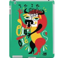 Toro loco - Crazy bull spanish ole ole iPad Case/Skin