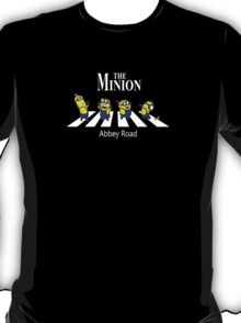 The Minion Abbey Road New Funny T-Shirt