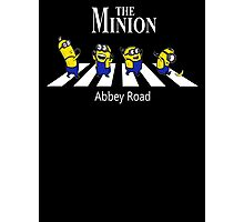 The Minion Abbey Road New Funny Photographic Print