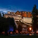 Potala Palace at Dusk by Tomas Abreu
